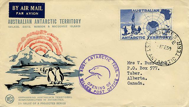 Antarctic Treaty Signed