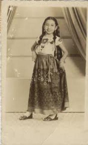 Mi abuela Materna Ana Ojeda