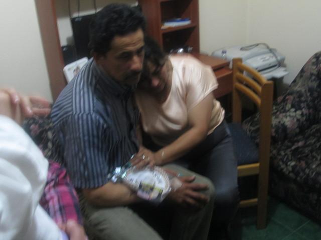 Primer encuentro de mis padres.