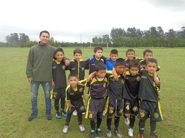 Mi primer campeonato de futbol