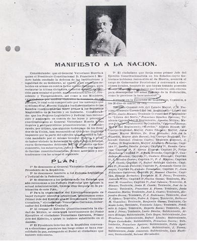 Decreto de Adiciones y Rformas del Plan de Guadalupe