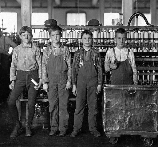 Trabajo de los niños