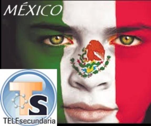 MÉXICO. TELESECUNDARIAS