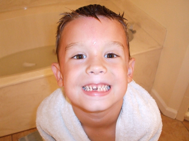 ty's 1st lost tooth