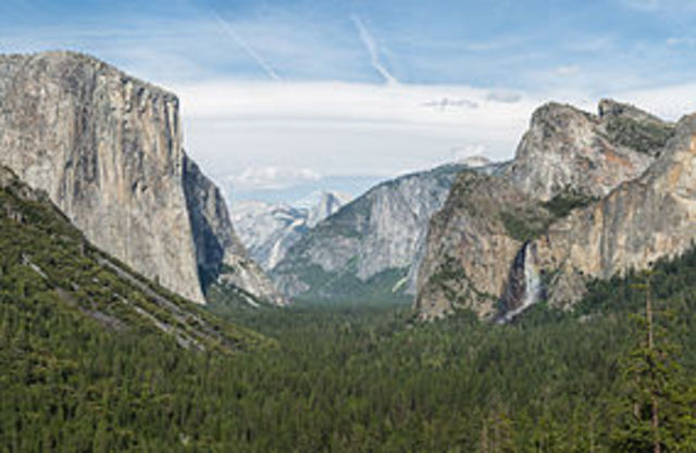 Yosemite and Sequoia National Parks founded