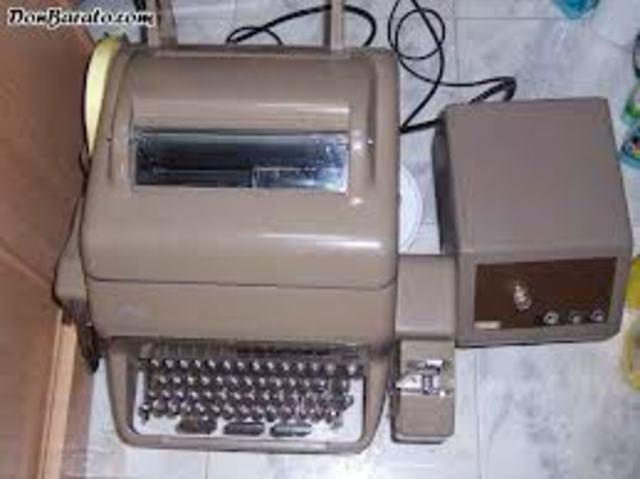 Invención del Teletipo