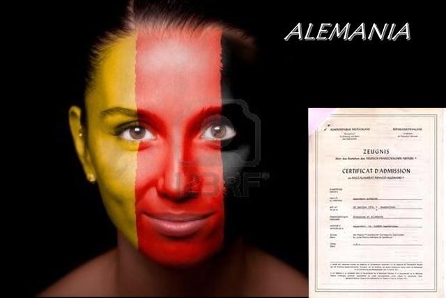 ALEMANIA. EXAMEN DE ACCESO A LA UNIVERSIDAD