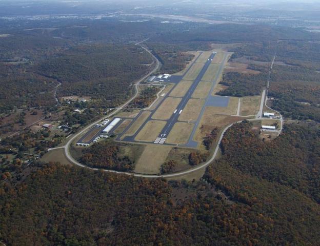 Leave for Tulsa Internation Airport
