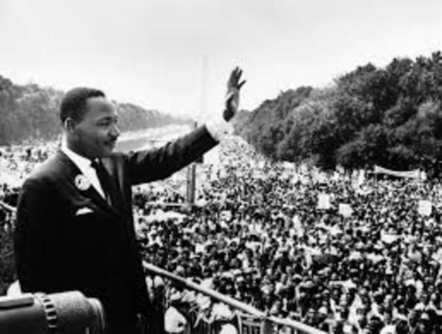 """Martin Luther Kings speech """"I Have A Dream"""