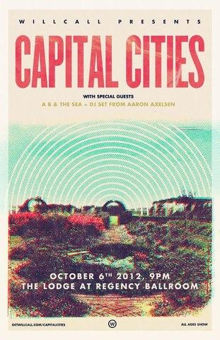 Capital Cities @ Regency Ballroom
