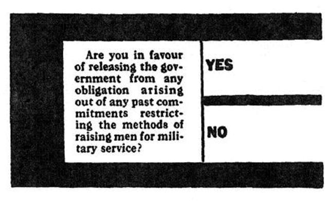 Canadian conscription plebiscite