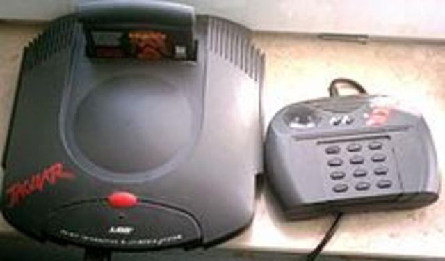 El Atari Jaguar (Jaguar 64 oficialmente).