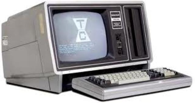 Computadora con monitor integrado