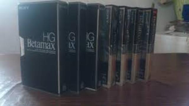Sony lanza el sistema de video Betamax