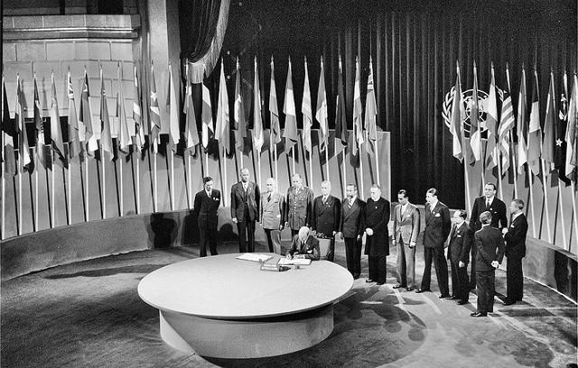 Creation of UN