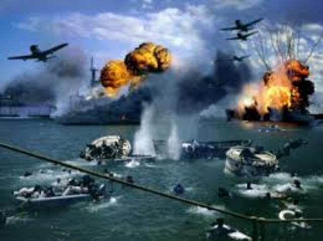 Japan Attacks the US Navy at Pearl  Harbor