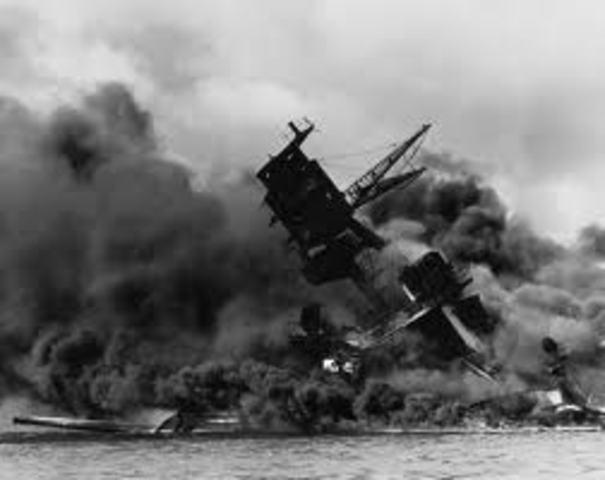 Japan attacks US army at Preal Harbor
