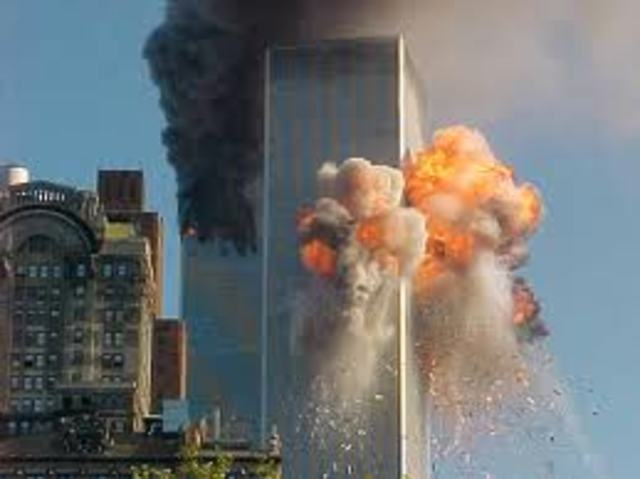 When the Twin Towers fell (9/11)