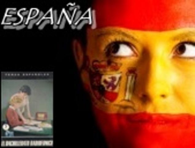 ESPAÑA.Bachillerato radiofónico