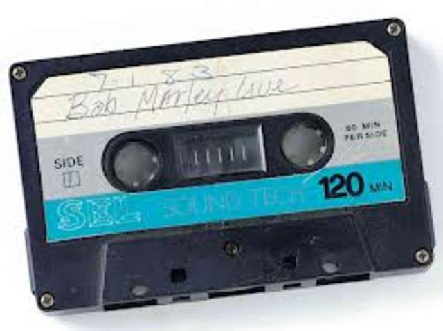 First Cassette tape made