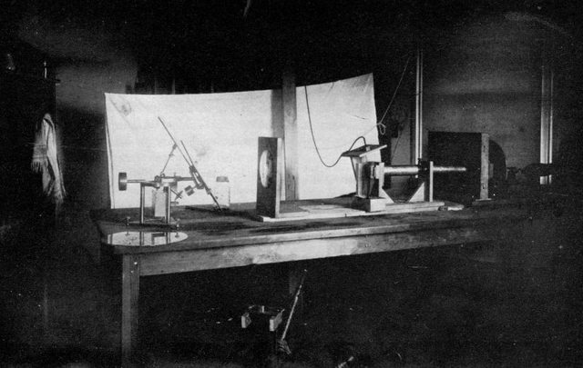 """An experimental """"binaural"""" phonograph system is created by Bell laboratories."""