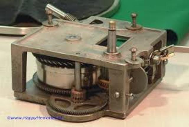 Clockwork Gramophone Motors
