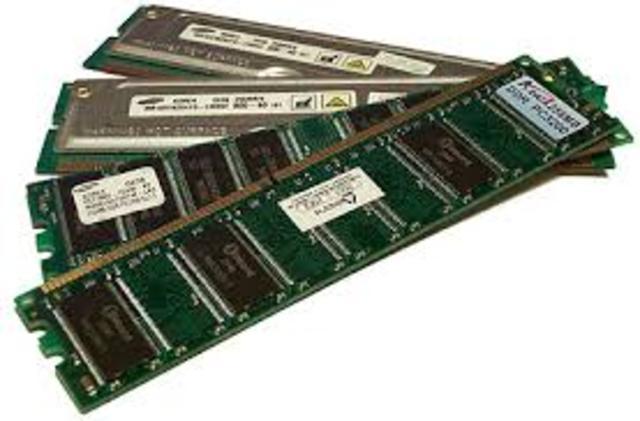 RAM invented