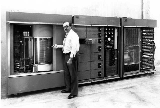 Primer disco Magnetico