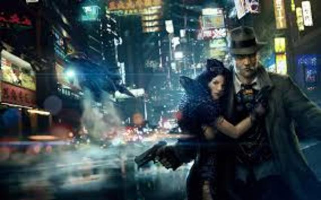 The word Cyberpunk coined