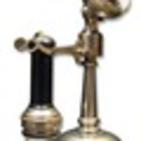 Tapered Shaft Oil-Can Candlestick
