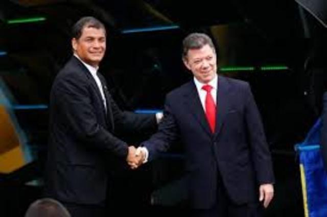 Misión de Buenos Oficios en Ecuador y Colombia (2008 - presente)
