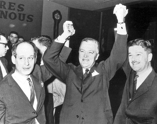 Jean Lesage becomes Premier of Québec