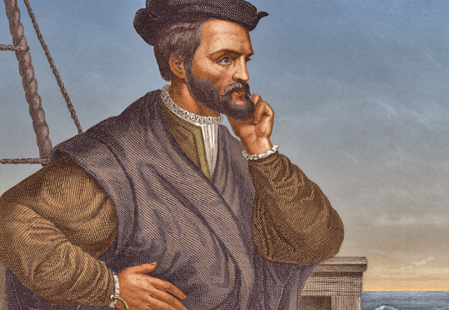 Jacques Cartier arrives in Canada