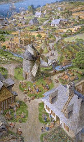 Stadacona Develops into a Colony