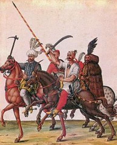 The Ottoman Turks are in control