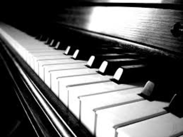 the day i started playing piano