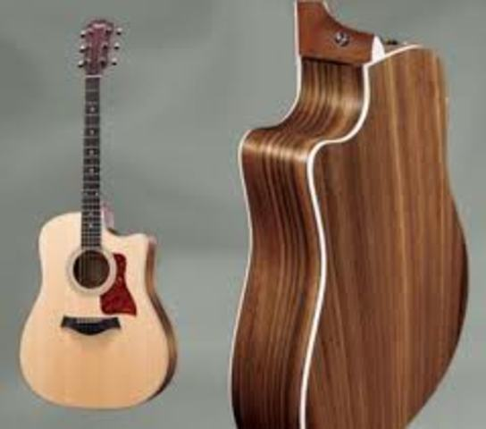 Taylor 410ce and traded in Taylor T5C1