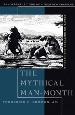 Fred Brooks publica Mythical Man Month