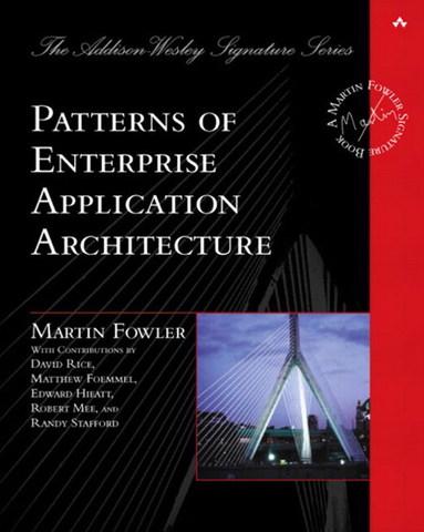 """Se publica el libro """"Patterns of Enterprise Applications Architecture"""""""