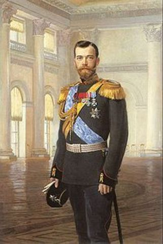 Abdica Nicolás II