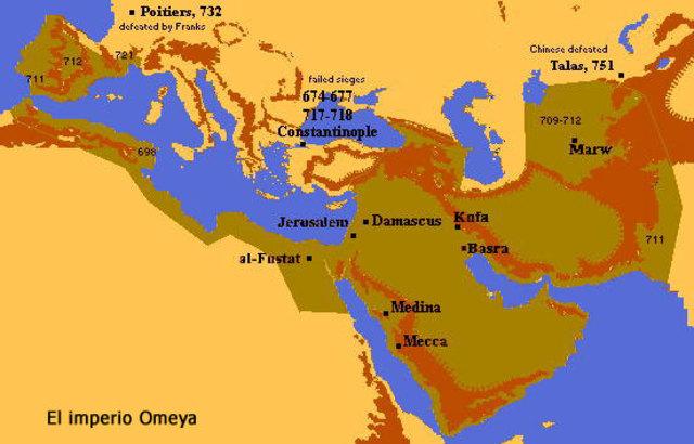 El Califato Omeya