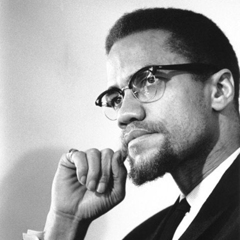 Malcolm X shot to death