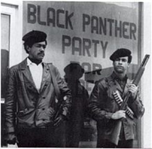 Black Panthers are founded