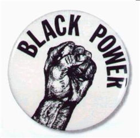 "Stokley Carmichael coins the phrase ""Black Power"""
