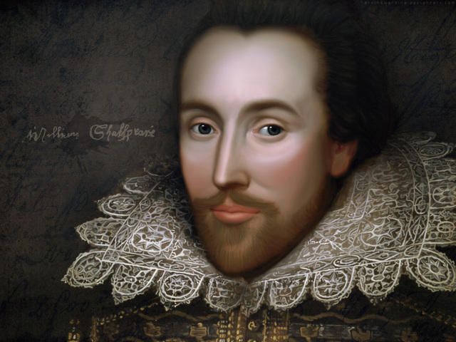 William Shakespeare in born in Stratford-on-Avon, England