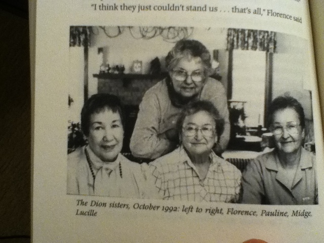 Diane's Mother and Aunts speak about boarding schools