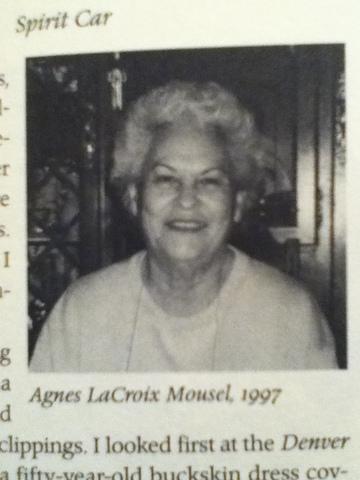Diane meets her mother's cousin Agnes LaCroix Mousel