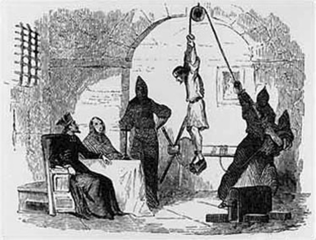 The Spanish Inquisition is abolished