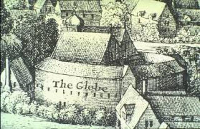 The Globe Theatre has its first recorded performance.