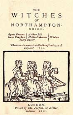 Four women and one man are hanged as a result of the Northampton Witch Trials